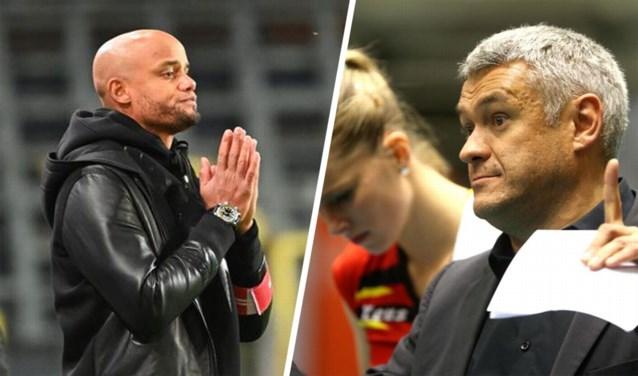 Vincent Kompany wil volleybalcoach als mentor: Anderlecht zoekt piste voor samenwerking met Gert Vande Broek