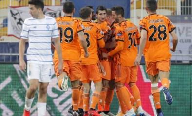 OVERZICHT CHAMPIONS LEAGUE. Juventus neemt de maat van Dynamo Kiev