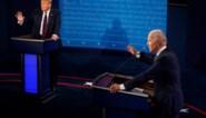 Verkiezingen Amerika: Microfoons van Trump en Biden uitgeschakeld als andere spreekt tijdens tweede debat