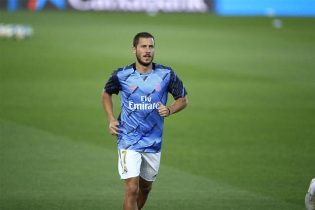 Eden Hazard moet terugkeer bij Real Madrid en de Rode Duivels uitstellen door spierblessure