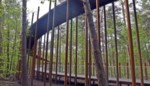 Fietsen door de bomen gelauwerd door staalbouwsector