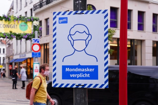 Nieuw: ook mondmasker op zak hebben is vanaf nu in heel Gent verplicht