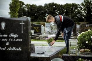 """Met het mondmasker naar het kerkhof: """"Bij elkaar troost zoeken? Ideaal om het virus verder te verspreiden"""""""