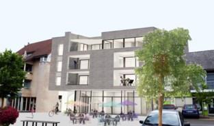 Bouwproject met taverne en woningen aan marktplein van Overpelt
