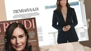 Als een blazer zonder blouse een staatszaak wordt: Finse premier onder vuur voor 'beetje bloot' in modeblad