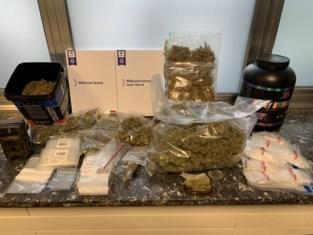 Drugs, geld en vuurwapens in beslag genomen in onderzoek naar 'bovendealer'