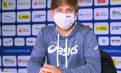 """David Goffin ondanks twee lastige weken toch van de partij in Antwerpen: """"Geen idee hoe ik besmet ben geraakt"""""""