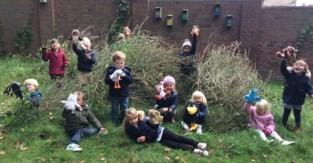Leerlingen Natuurschool genieten van Week van het Bos