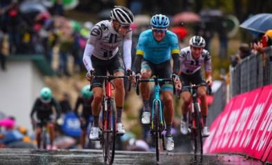 Overdosis koers vandaag: finish op een muur in de Giro en stevige col in de Vuelta en een laatste topkoers bij de vrouwen