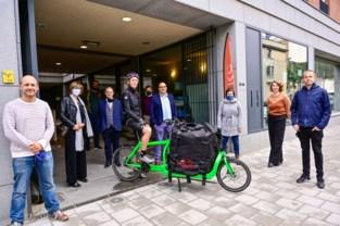 Proefproject met cargofietsen moet bestelwagens uit winkelstraten halen