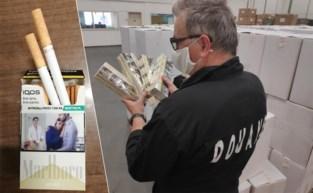 Douane onderschept 11 miljoen namaaksigaretten, verstopt tussen voetballen