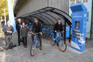 Blue-bikes nu ook te huur aan station in Harelbeke<BR />