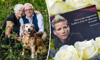 """Jaar na euthanasie krabbelen ouders Marieke Vervoort voorzichtig recht: """"Kleinzoon is onze redding geweest"""""""