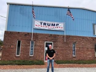 """Oudsbergenaar Eddy in Tennessee: """"Waar is die muur nu?"""""""