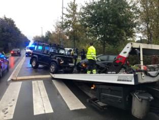 Moeilijke ochtendspits door ongeval in Brugge