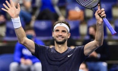 Vierde reekshoofd Dimitrov rekent af met Andujar-Alba en bereikt kwartfinales European Open in Antwerpen