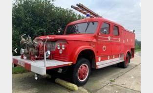 """Gemeentebestuur veilt oude brandweerwagen uit de jaren 60: """"Hij kan wel wat liefde en aandacht gebruiken"""""""