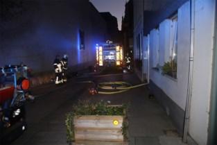 Studio onbewoonbaar na felle brand