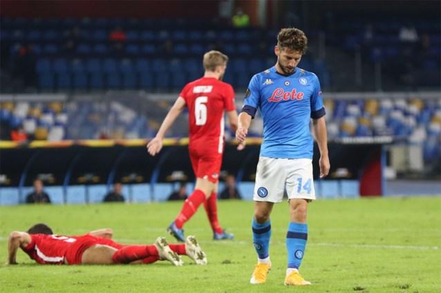 OVERZICHT EUROPA LEAGUE. Dries Mertens verliest in eigen huis van AZ, Jan Vertonghen wint met Benfica