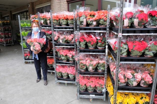 Tuincentrum deelt 2.000 plantjes uit aan zorgpersoneel