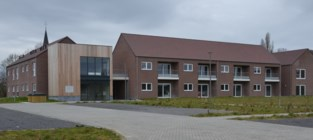 Serviceflatcomplex staat klaar om te dienen als veldhospitaal