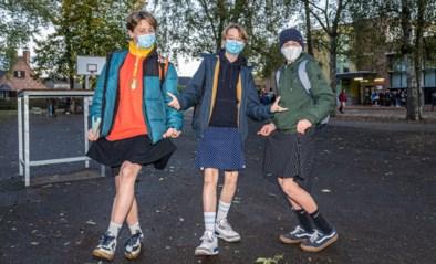 """Gentse jongens komen in rok naar school: """"Iedereen moet kunnen dragen wat hij wil"""""""