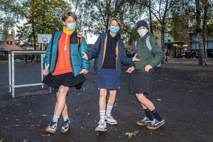 """Gentse jongens gaan in rok naar school tegen seksisme: """"Iedereen moet kunnen dragen wat hij wil"""""""