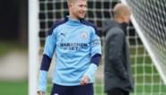 Kevin De Bruyne staat weer op het trainingsveld