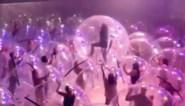 """Band stunt met het ultieme coronaproof """"bubbel""""-concert"""