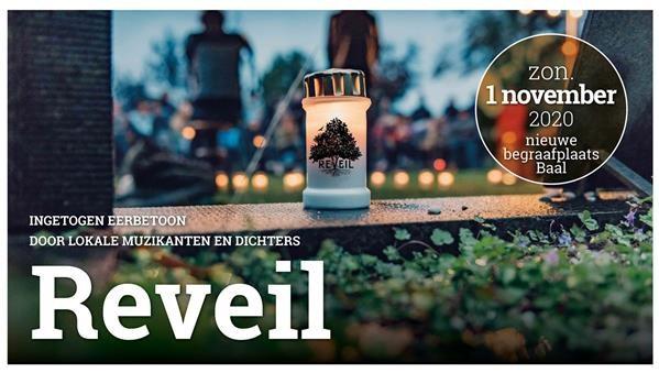 Reveil. Muzikaal en poëtisch bezinningsmoment op 1 november