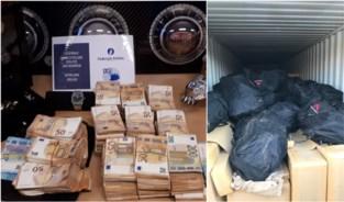 Drugsbende opgerold: havenarbeiders en baas transportfirma in de cel, 1,3 ton coke en 300.000 euro cash in beslag genomen