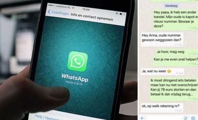 """Politie deelt akelig realistische WhatsApp-berichtjes van oplichters: """"Slachtoffers speelden tot 25.000 euro kwijt"""""""