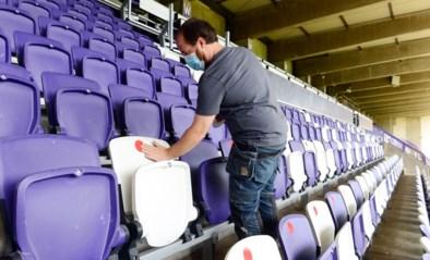 Weer voetbal zonder publiek: Overlegcomité laat geen toeschouwers meer in stadions