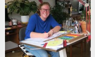 Illustrator Nele helpt kinderen en gezinnen bij moeilijke thema's als zelfmoord