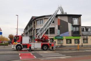 Verkeershinder ring Diest door brand in garage appartementsgebouw