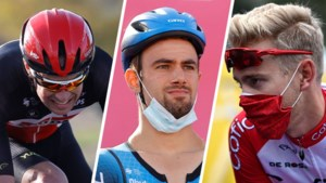 Deze 16 Belgische wielerprofs zitten nog zonder ploeg voor 2021