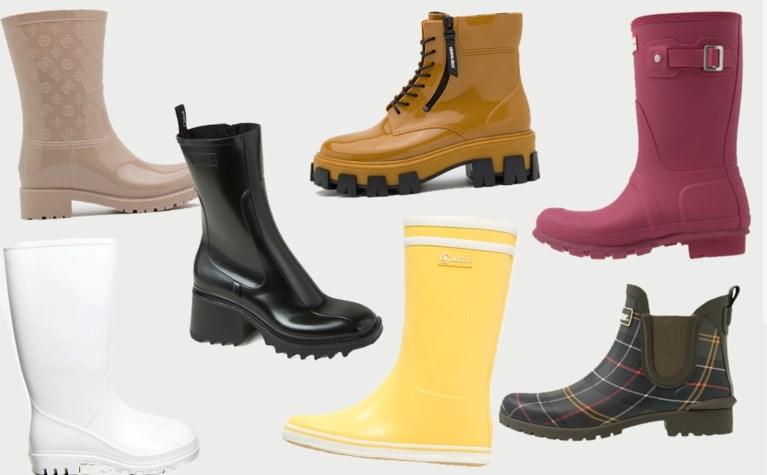 De rubberlaars, schoen van het seizoen