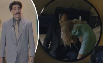 """Borat verdedigt scène met Rudy Giuliani in nieuwe film: """"Onschuldige 'sexy time' ontmoeting met mijn 15-jarige dochter"""""""