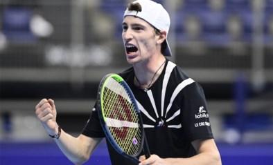 """Halve finalist Ugo Humbert heeft """"goede herinneringen"""" aan European Open in Antwerpen"""