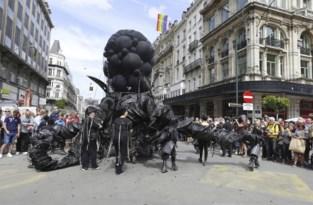 'Blijde Uittrede' in Brussel één uur voor vertrek afgelast