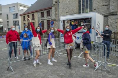 Jongeren genieten van Dag van de Jeugdbeweging in het klein