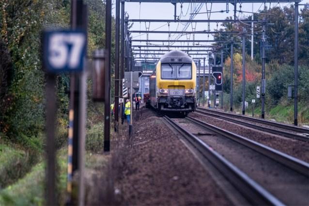 Aanrijding tussen goederenwagons en reizigerstrein in Hasselt, geen gewonden
