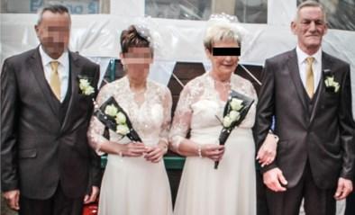 'Zwarte weduwe' pluimt iedereen: haar man droeg zelfs geen kleren in het funerarium