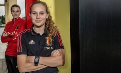 """Red Flames Heleen Jaques en Jarne Teulings over toekomst Belgisch vrouwenvoetbal: """"WK in ons land kan een geweldige boost zijn"""""""