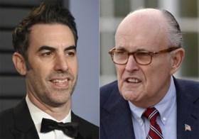 """Trump blijkt geen fan van Borat en noemt hem een """"creep"""""""