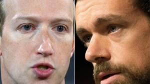 Topmannen Facebook en Twitter verschijnen in november in Senaat voor blokkeren kritisch artikel Joe Biden