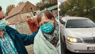 46-jarige coronapatiënte uit Gingelom rijdt na 218 dagen in het ziekenhuis naar huis in limousine