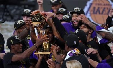 Nieuwe NBA-competitie zou kort voor Kerstmis van start gaan