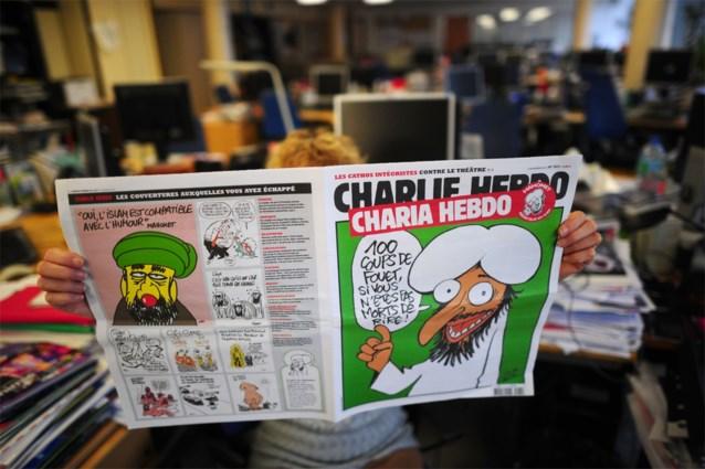 Onbekenden hangen Brussel vol met Mohammedcartoons