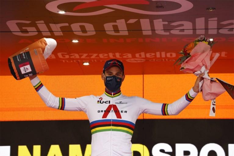 """Victor Campenaerts sluit Giro af met knappe tweede plaats: """"Blij dat ik naar huis mag, ben beetje over mijn top heen"""""""